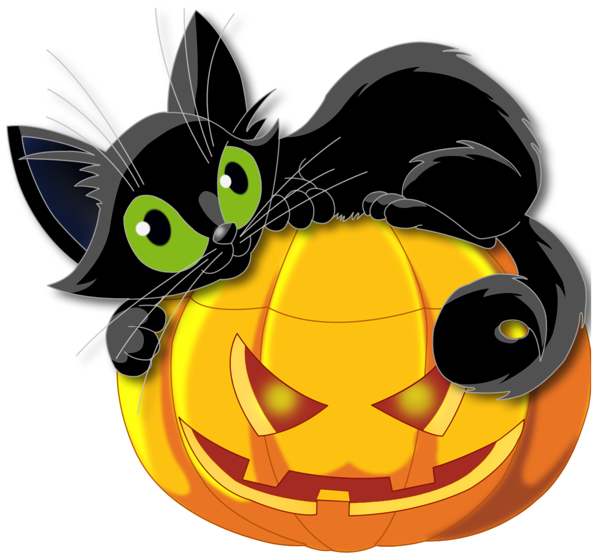 Halloween Black Cat Pictures - Cliparts.co | Halloween ...