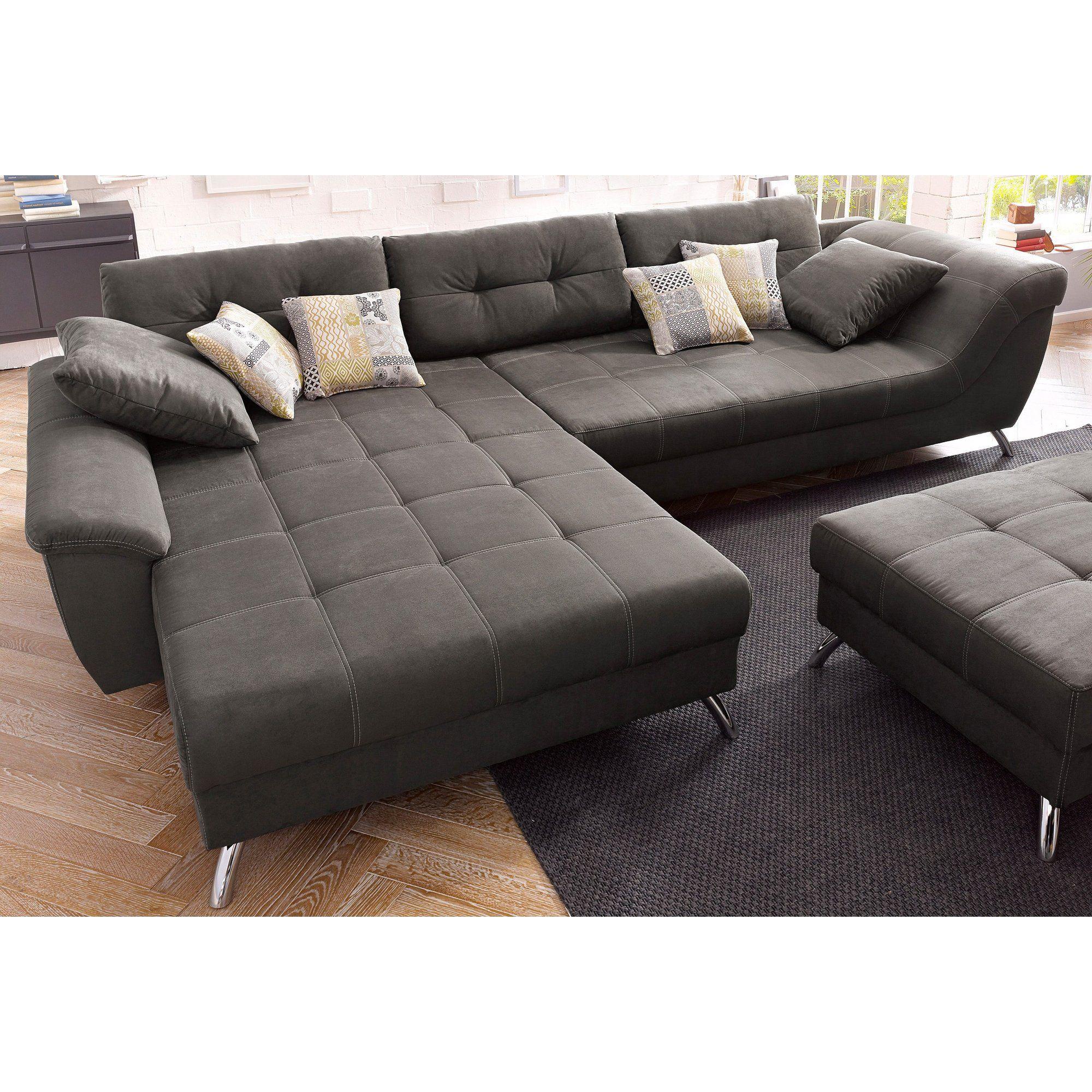 Canapé d angle avec méri nne modulable Un style tr¨s contemporain