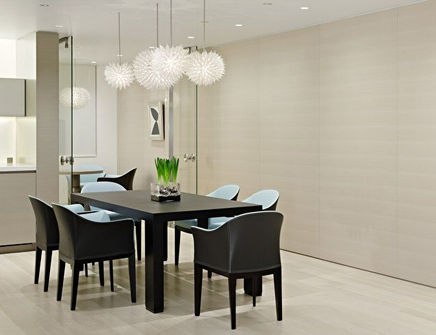Modern Dining Room Design Apartment