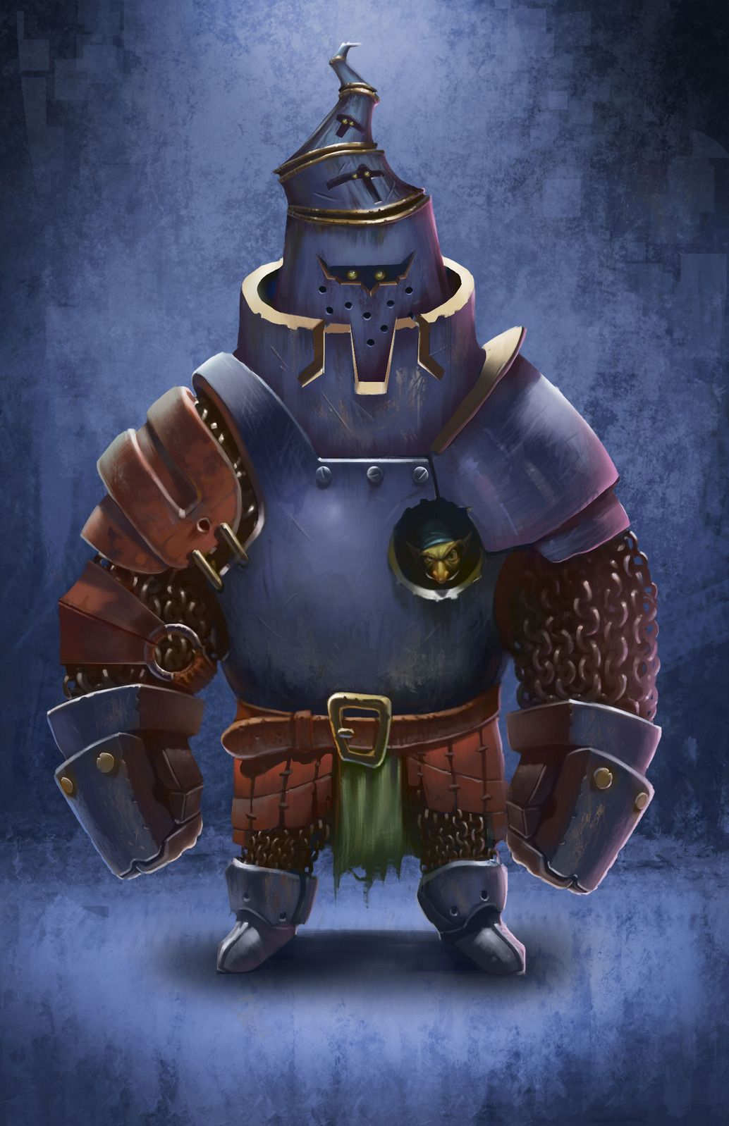 Benatar 2d Fantasy Character Knight Armor