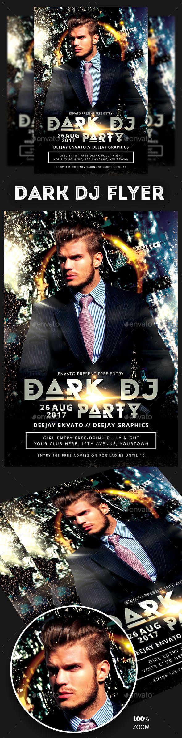 DJ Flyer   Pinterest   Dj, Flyer template and Template