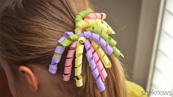 Cute DIY hair accessories for your little girl #girlhair