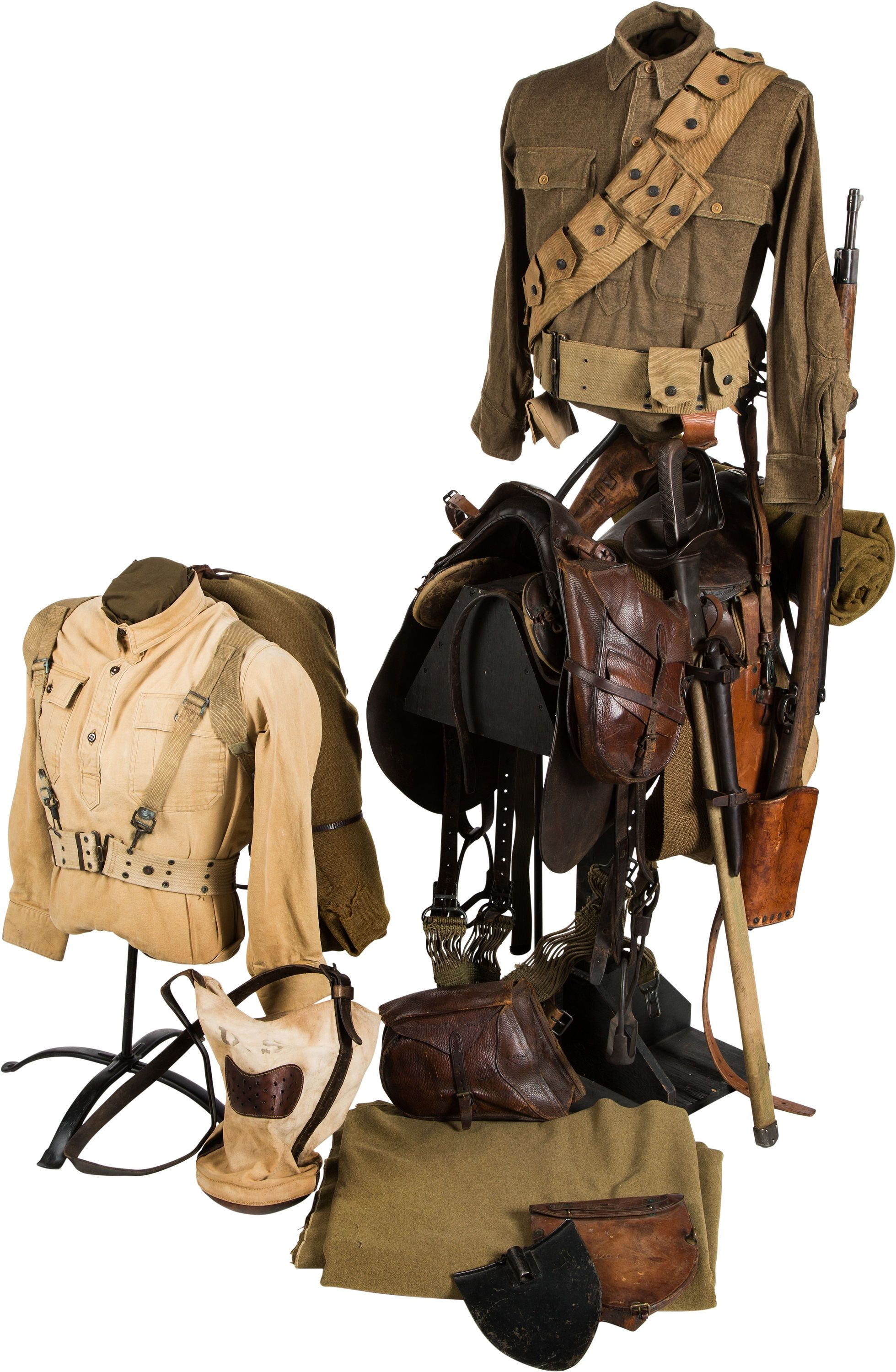 Wwi Us Cavalry Grouping