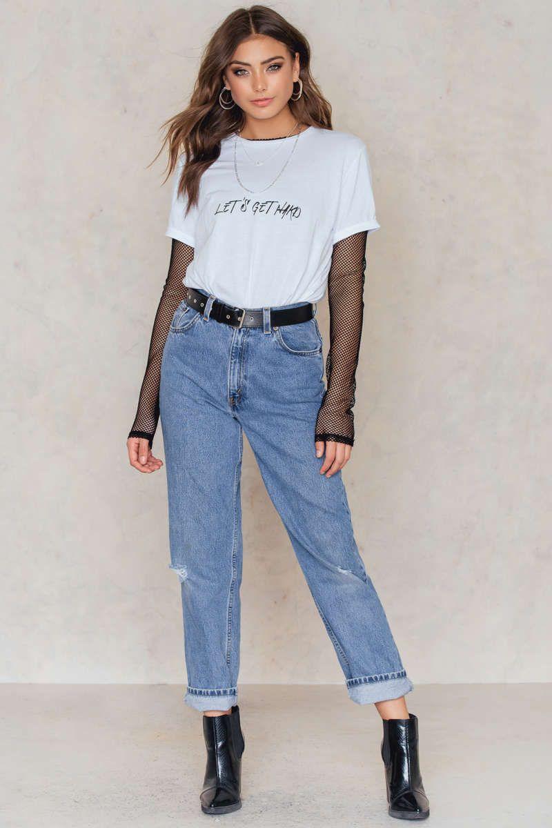Basic T-Shirt - Buy online   NA-KD