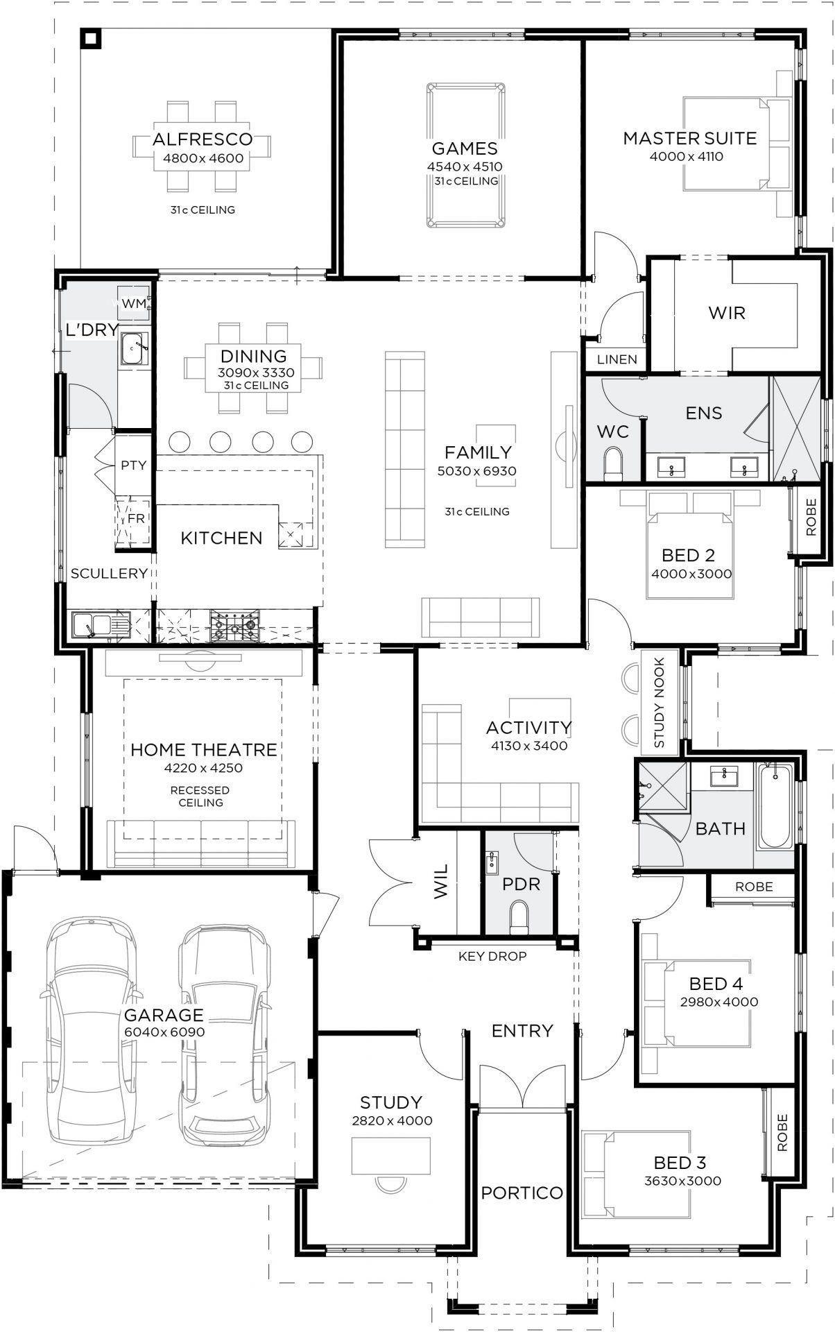 Maison Plan Design Home Design Floor Plans House Layout Plans New House Plans