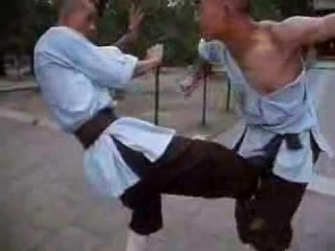 Shaolin monks sparring (rare) - YouTube | KIAAAA HAHAHAHA