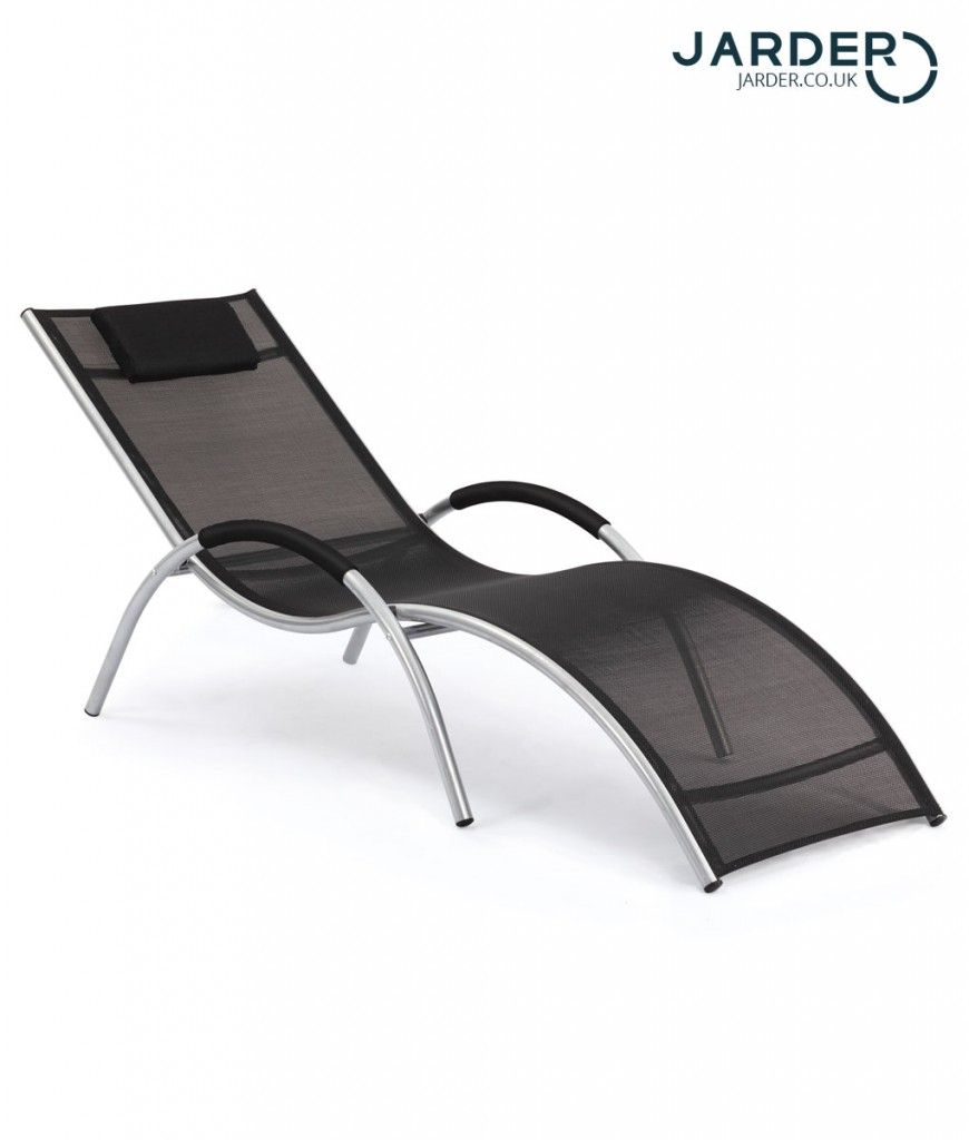 the ultra modern curves of this bali sun lounger would be