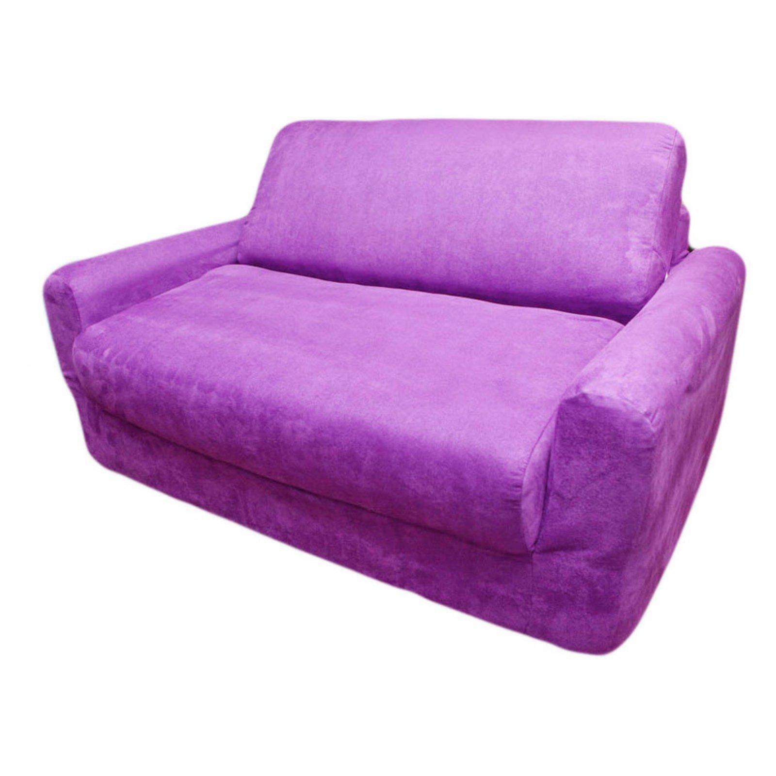 Fun Furnishings Purple Sofa Sleeper