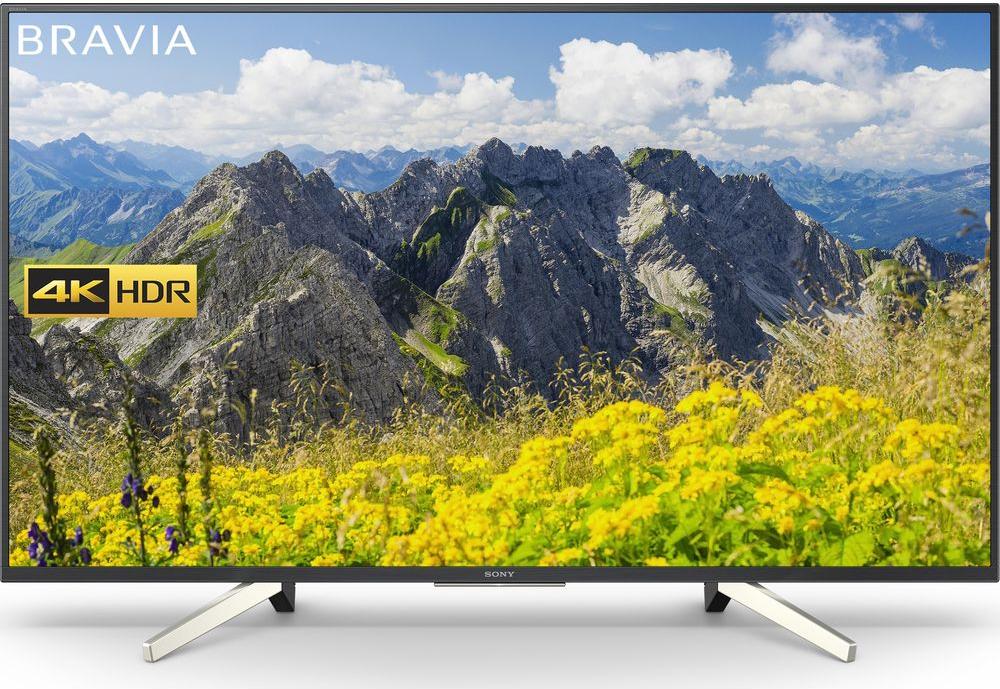 Buy Sony Bravia Kd49xf7596 49 Smart 4k Ultra Hd Hdr Led Tv At