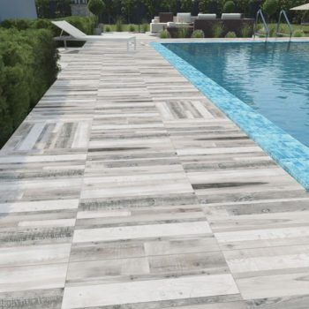 wood look porcelain pavers pool deck - Google Search 2012 - pose pave de verre exterieur