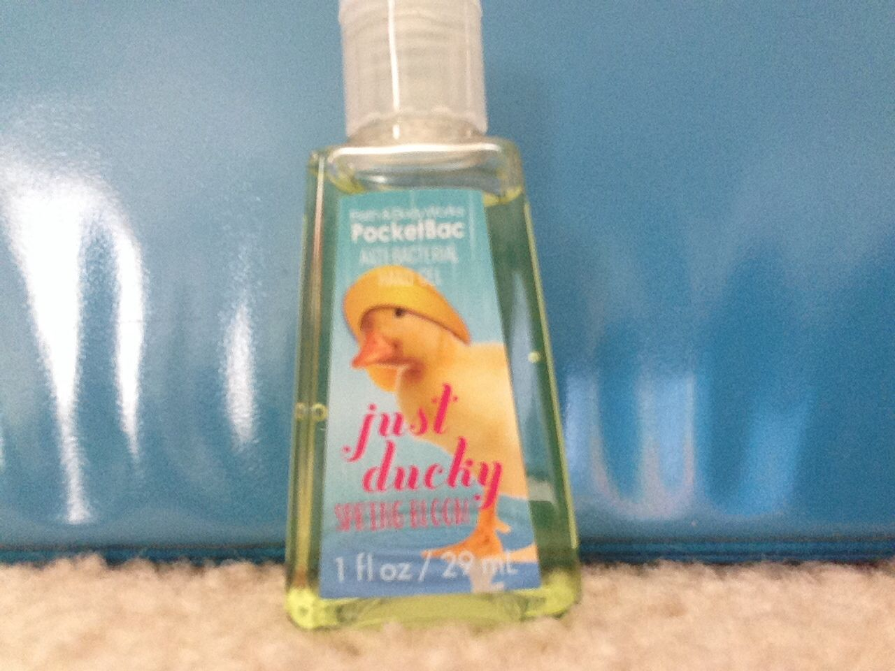 Just ducky in spring bloom pocket bac | Pocket bacs and other bath ...