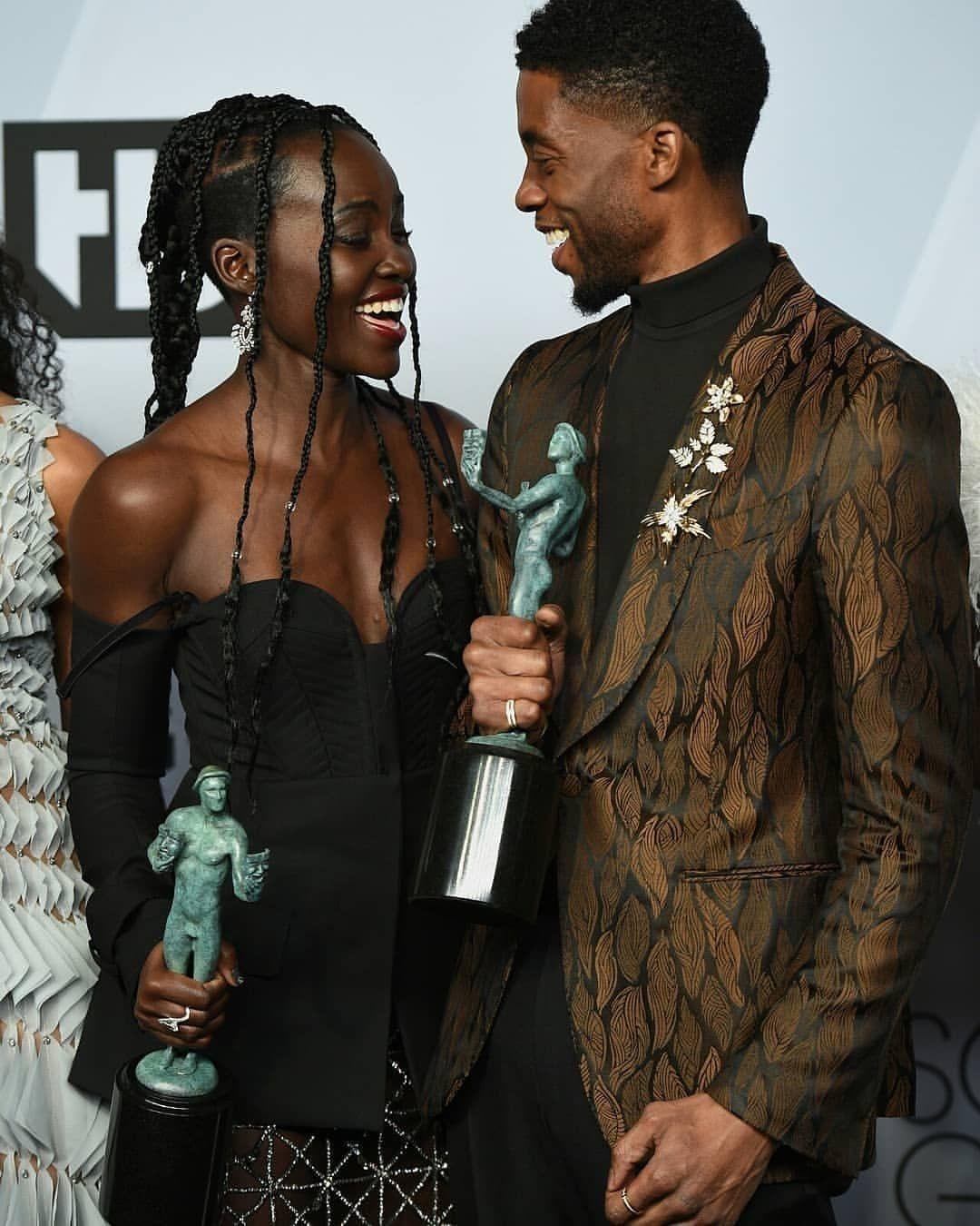 53 Likes 1 Comments Chapita Nakia Tchalla On Instagram Them Repost Ch Chadwick Boseman Black Panther Chadwick Boseman Black Celebrities