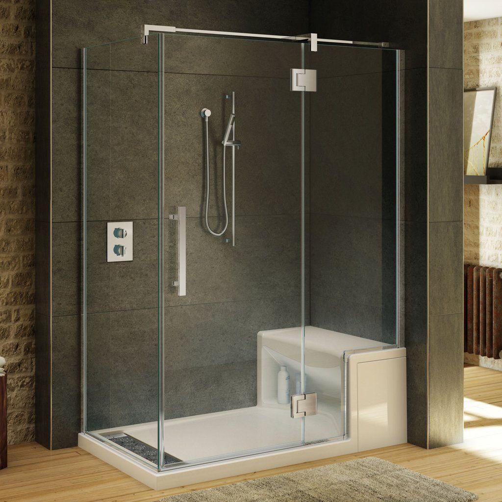 Fleurco Shower Door Titan Hyperion 2 Sided Shower Doors Modern Shower Modern Shower Doors