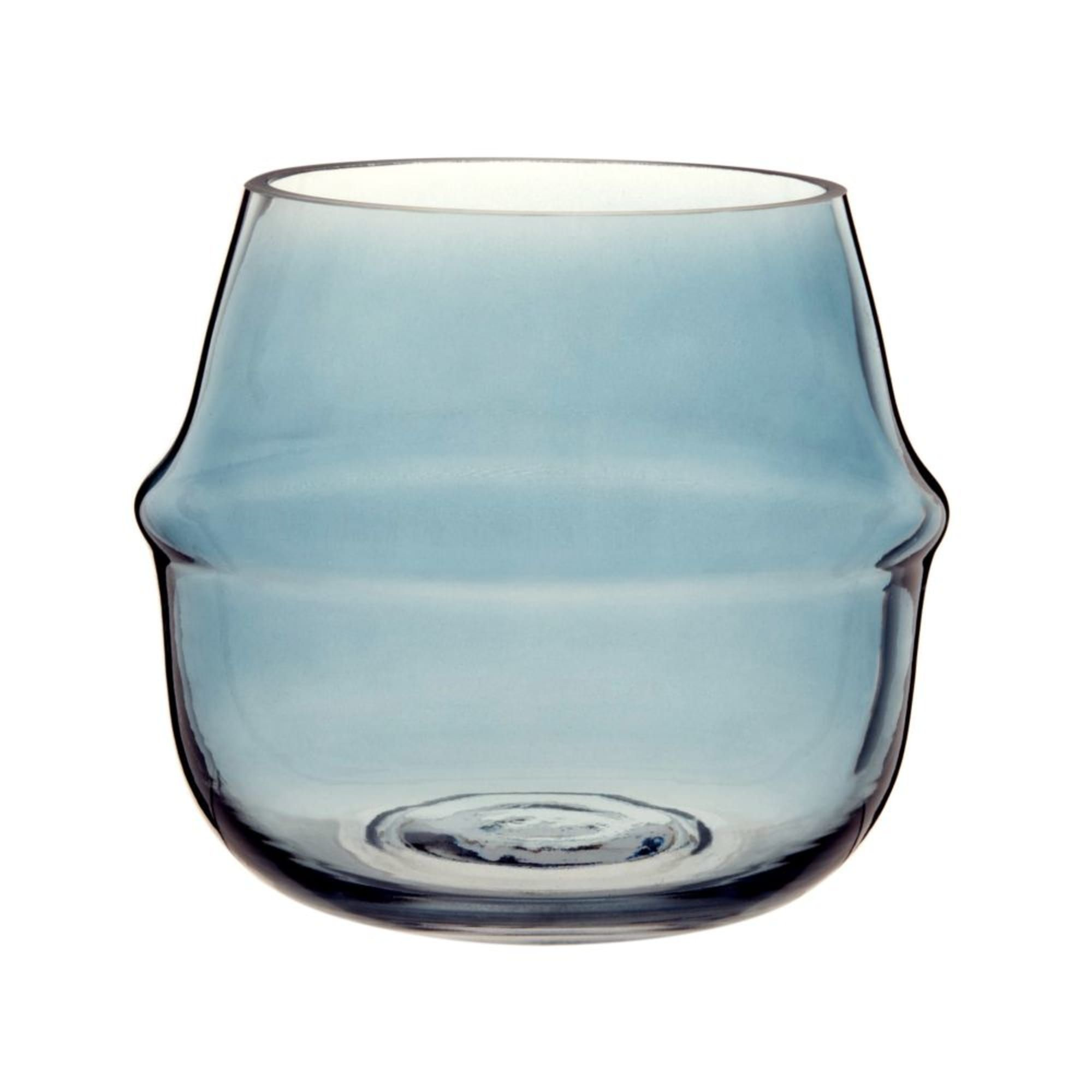 Windlicht Aus Blau Getöntem Glas Maisons Du Monde Glass Candle Holders Glass Candle Candle Holders