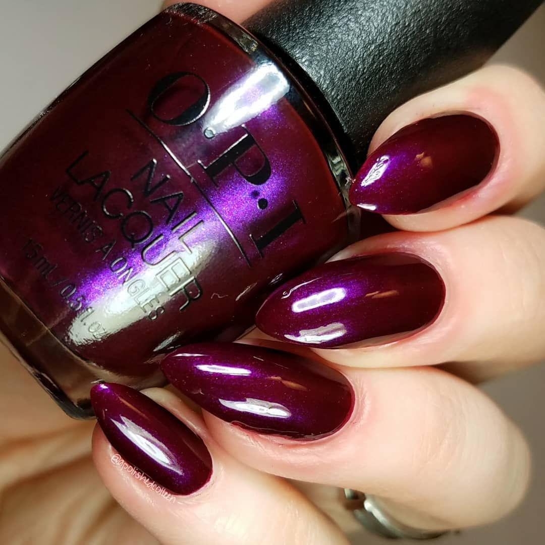 OPI And the Raven Cried Give Me More | Nagel-Lacke. - Nail-Polishes ...
