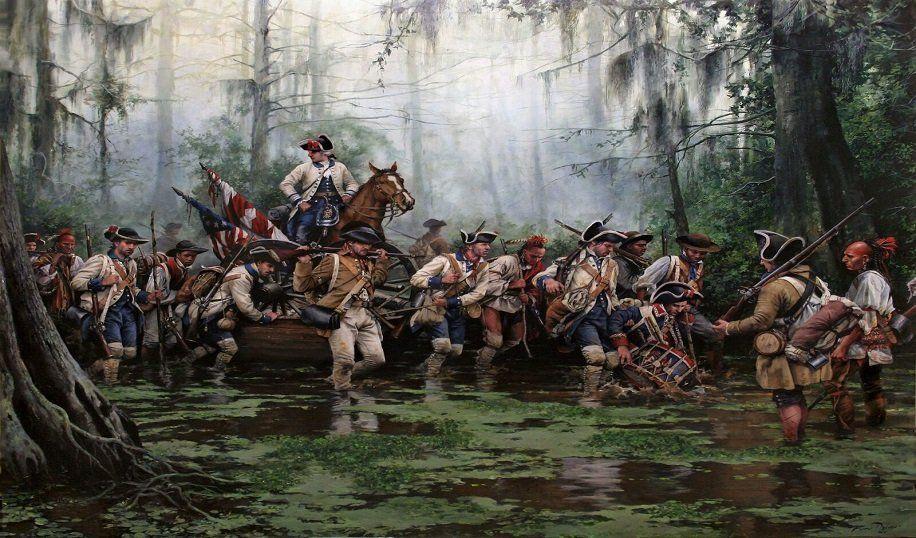 21 DE SEPTIEMBRE. American revolutionary war, American