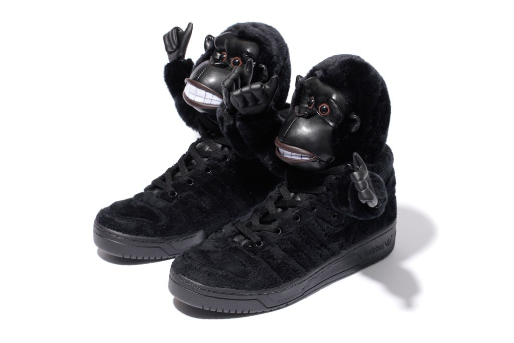 quality design 9595e 7998f adidas Originals by Jeremy Scott JS GORILLA Further Look