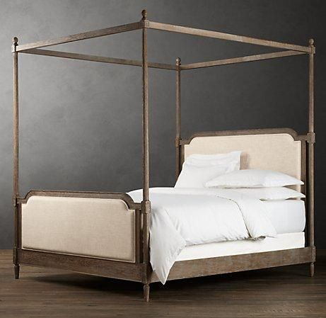 bedsheadboards vienne french four poster bed metal beds restoration hardware