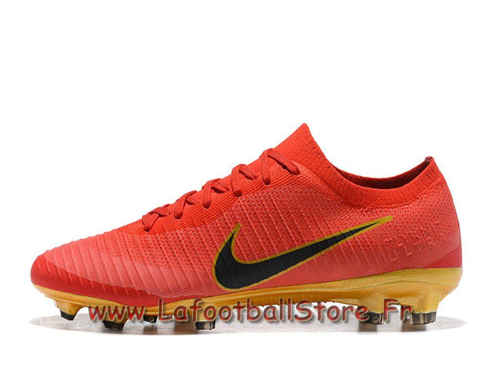 Nike Mercurial Vapor Flyknit Ultra FG Chaussure Nike 2018 de football à  crampons pour terrain sec