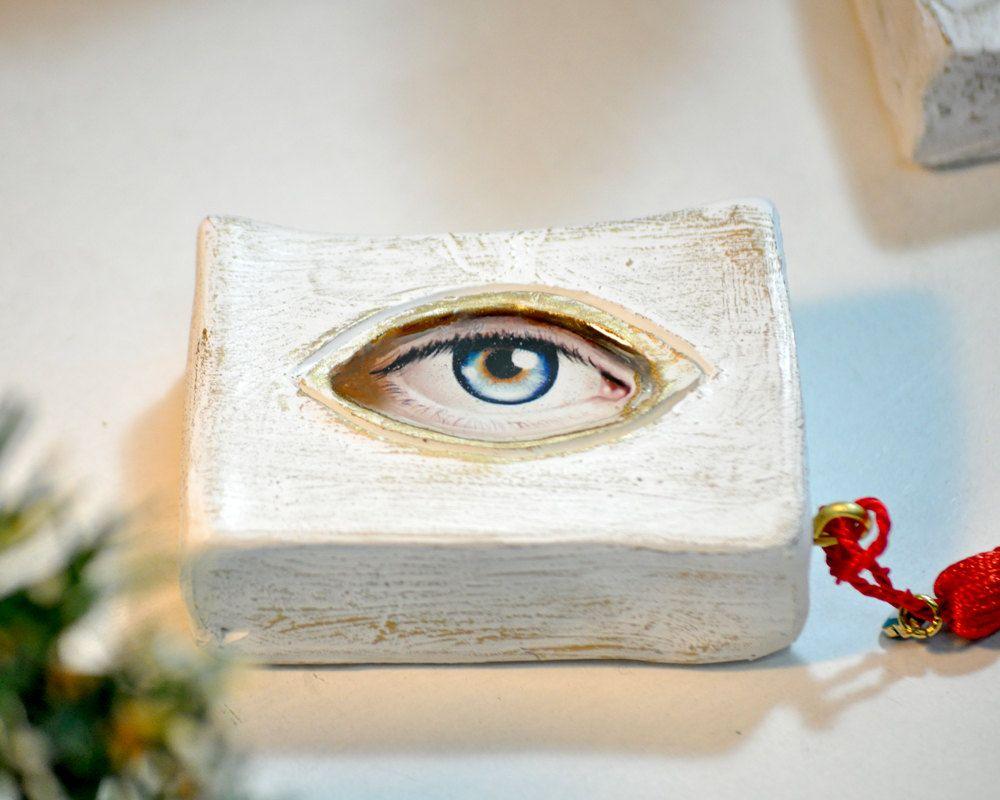 Charms Eye Gift For Home Good Luck Gift Ceramic Good