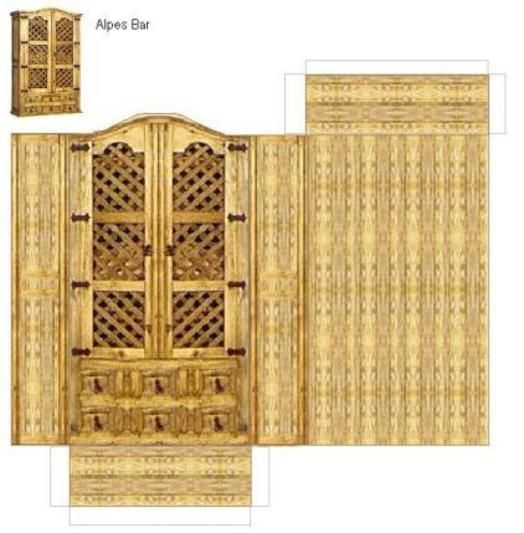 pin von dede paper auf paper paper furniture pinterest miniatur m bel miniatur und papier. Black Bedroom Furniture Sets. Home Design Ideas