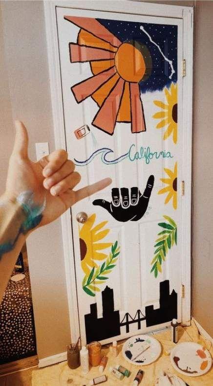 Door Painting Pintura De Portas Desenho De Porta Pintura Em Espelhos