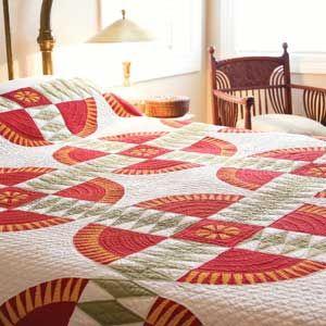 Vintage View: FREE An 1870 New York Beauty Bed Quilt Pattern ... : mccalls quilt blocks - Adamdwight.com