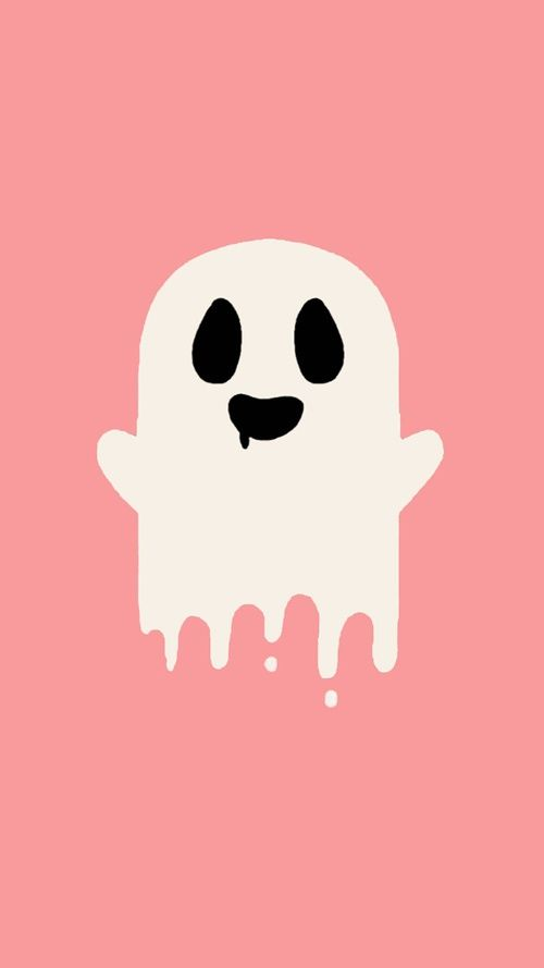 Imagem De Pink Ghost And Halloween Halloween Wallpaper Iphone Halloween Wallpaper Fall Wallpaper
