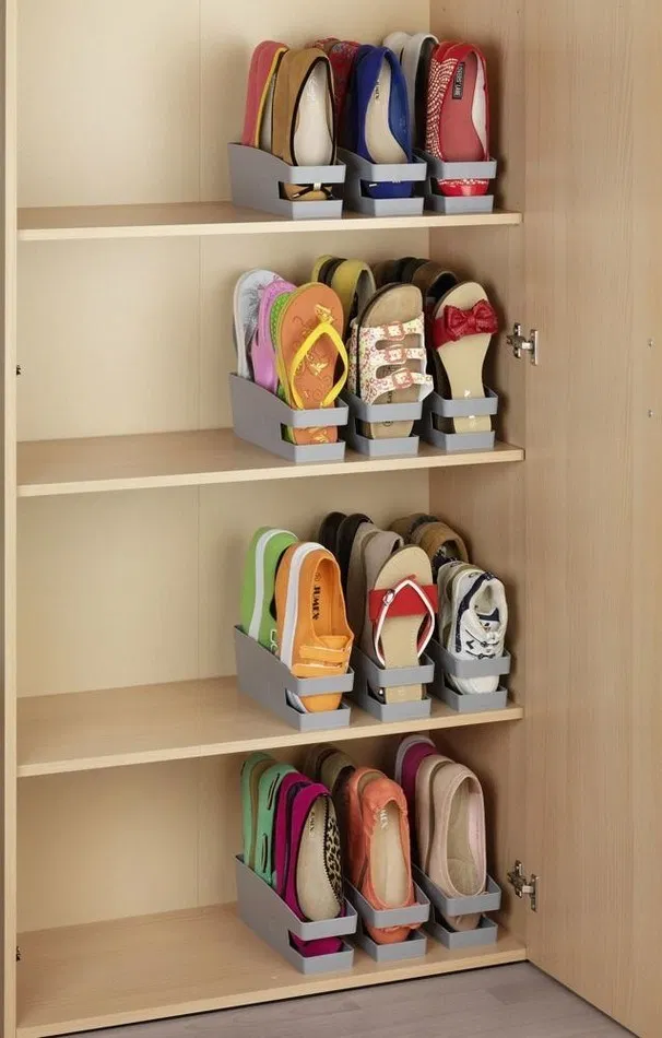 125 Space Saving Shoe Rack And Closet Ideas Bedroom Organization Storage Space Saving Shoe Rack Diy Shoe Storage