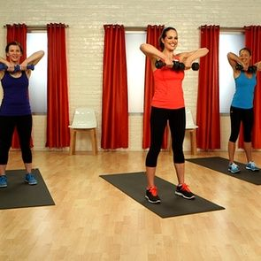 10-Minute Arm Workout Video - the girls are mildly obnoxious, but its a