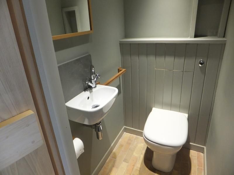 Cloakroom arredamento pinterest cloakroom ideas for Small loo ideas