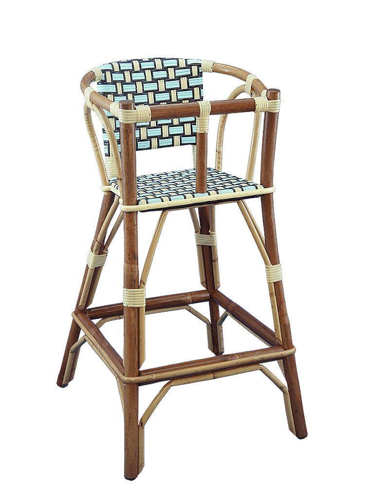 Chaise Haute Standard En Rotin A Usage Professionnel Maison Gatti
