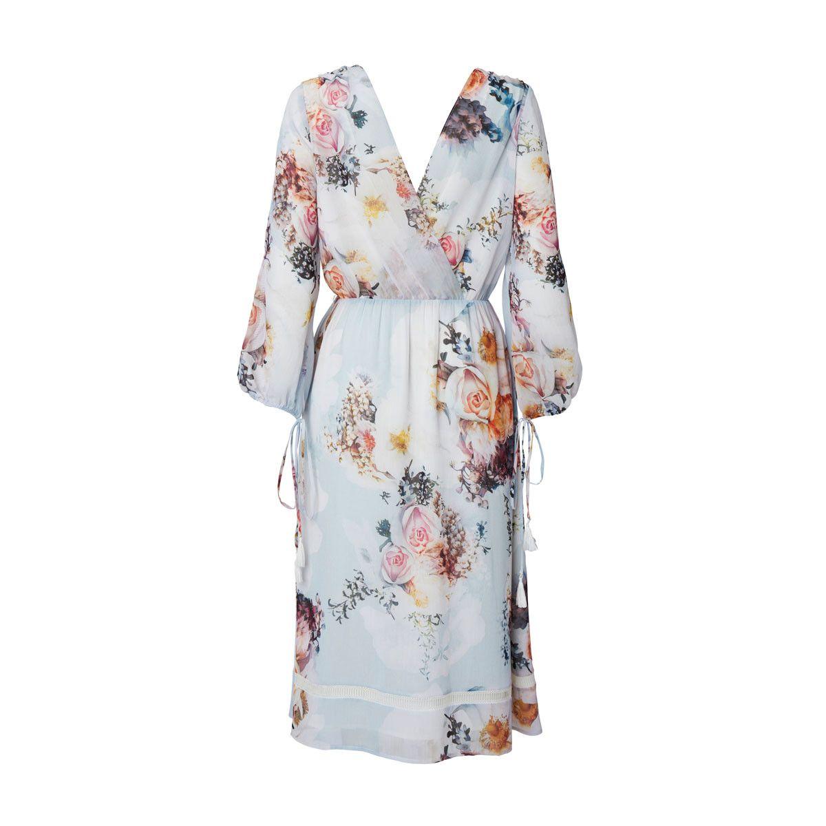 Primrose split sleeve midi dress in posie art pinterest