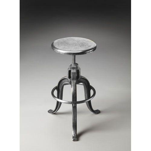 Fine Butler Specialty Company Metalworks Parnell Iron Bar Stool Inzonedesignstudio Interior Chair Design Inzonedesignstudiocom