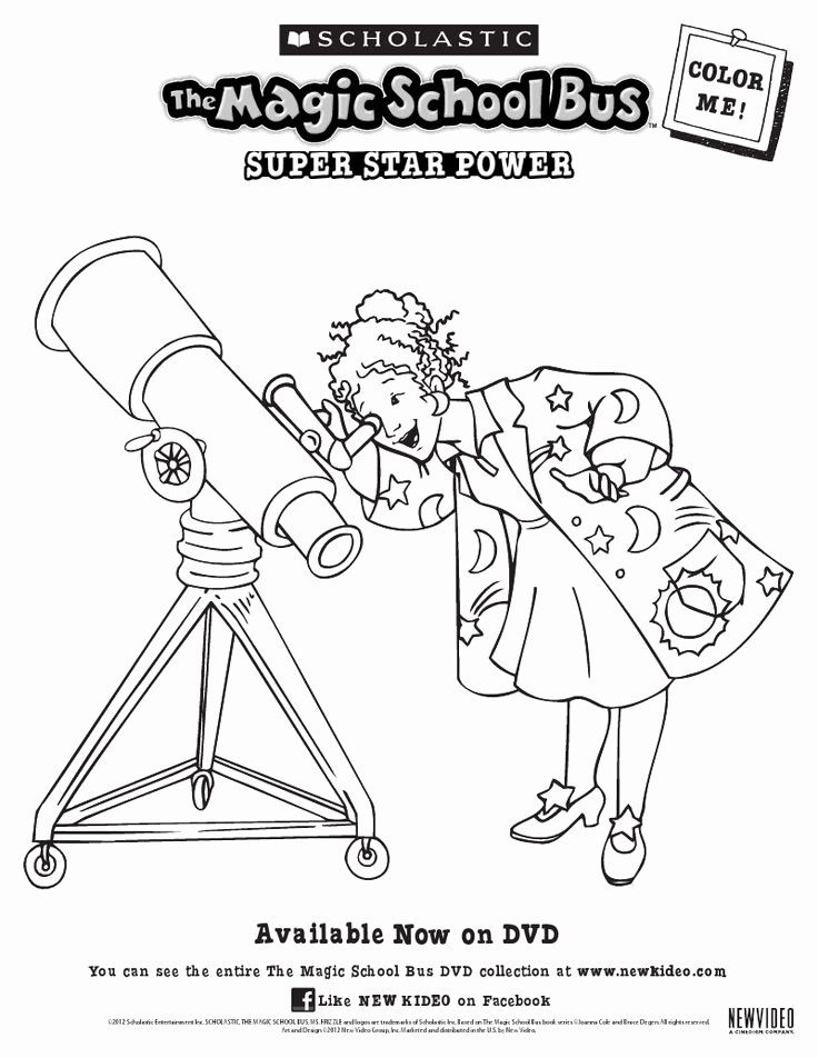Magic School Bus Coloring Page Awesome 32 Best Its the