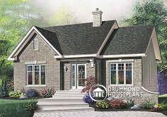 House Plan W4157 By Drummondhouseplans 1170 Sq Ft With Vinyl Siding