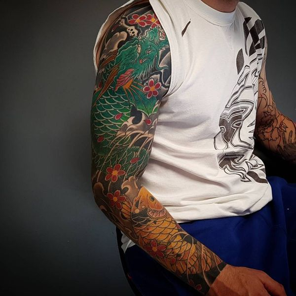 Koi Fish Inks Have Become Ones Of The Most Popular Beautiful And Common Inks That Are Tattooed On Different Koi Fish Tattoo Japanese Koi Fish Tattoo Koi Fish