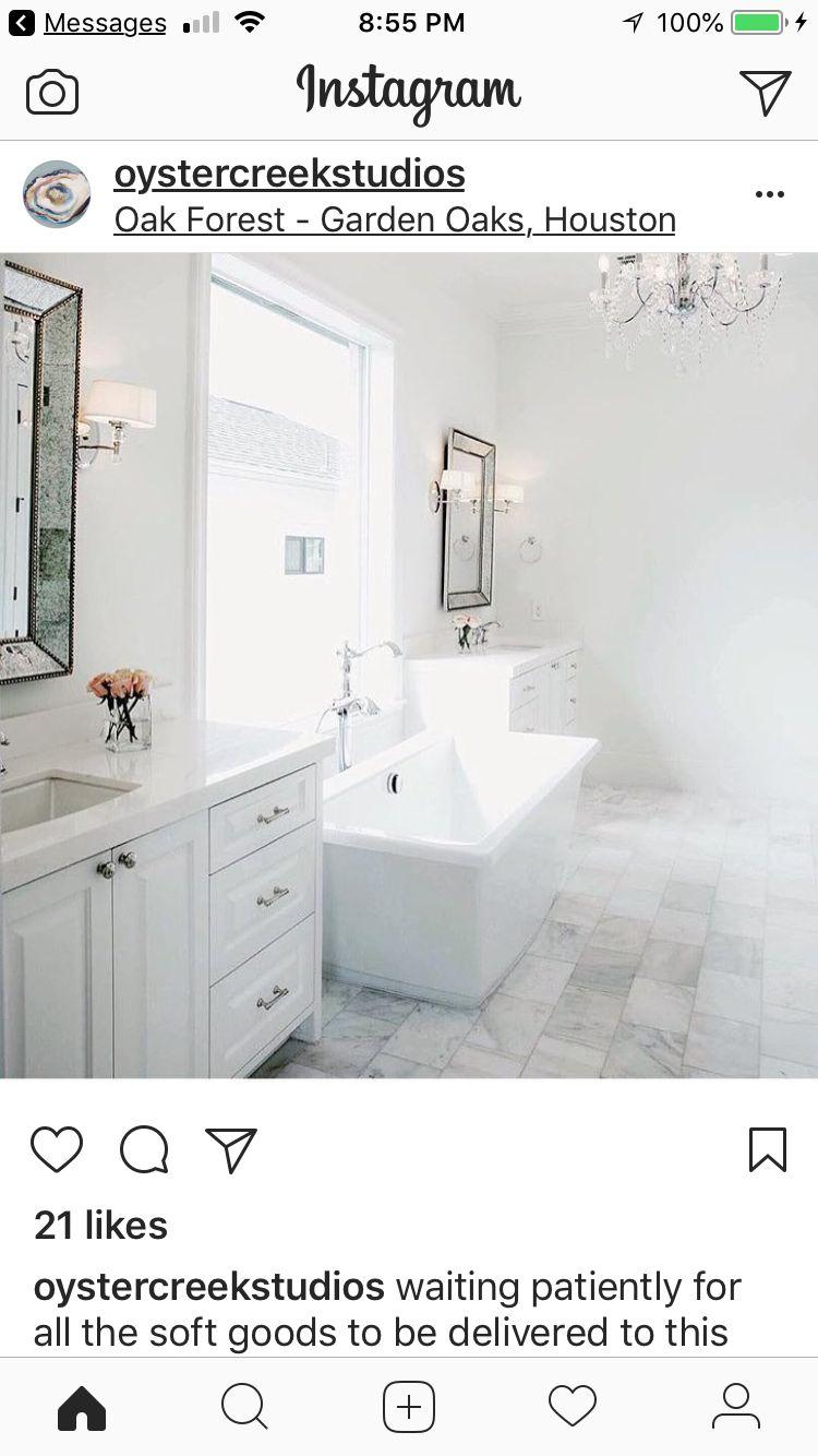 Pin by Erin Wadley on Tub Vanity, Double vanity, Bathroom