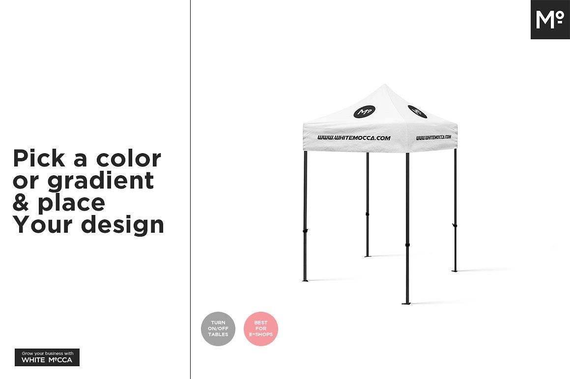 Download Event Tent Canopy Mock Up Free Demo Event Tent Canopy Tent Your Design