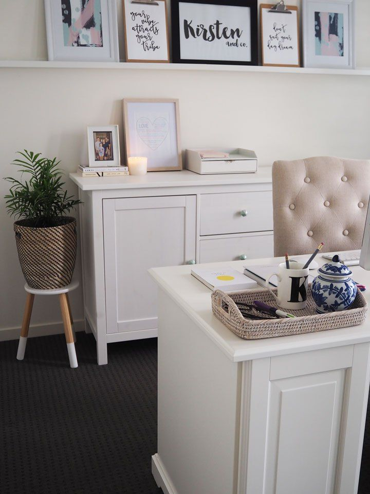 My Ikea Home Office my home office reveal! | liatorp, desks and office spaces