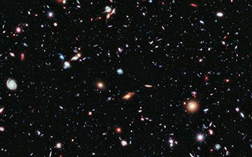 Hubble eXtreme Deep Field, or XDF. Credit, NASA what the ...