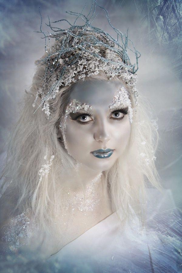 snow queen snow queen creative makeup snow queen. Black Bedroom Furniture Sets. Home Design Ideas