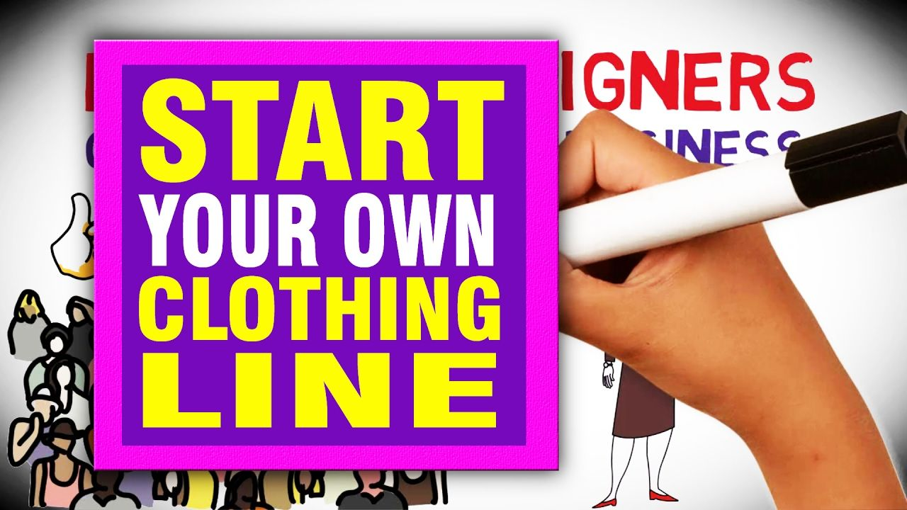 HOW TO START YOUR OWN CLOTHING LINE in 2017 https//www