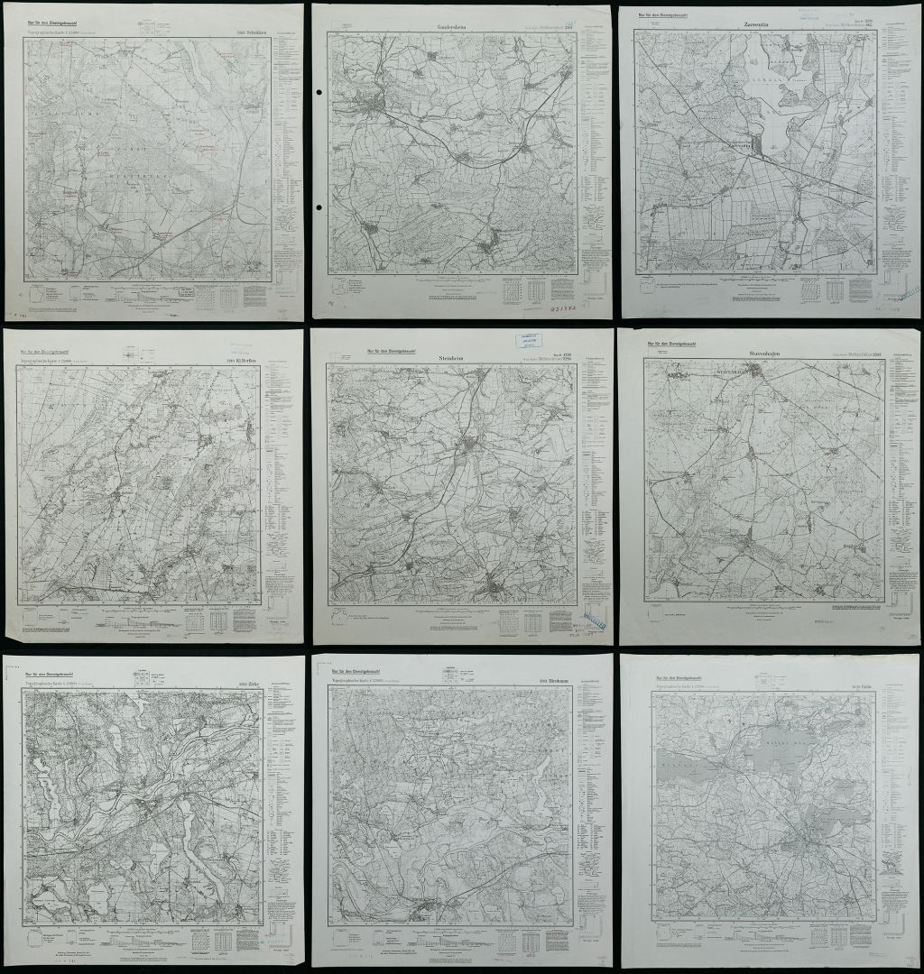 Lot 277 world war ii captured german service maps 9 german lot 277 world war ii captured german service maps 9 german 1924 to 1942 marked service maps of germany including three with the us army map service gumiabroncs Images