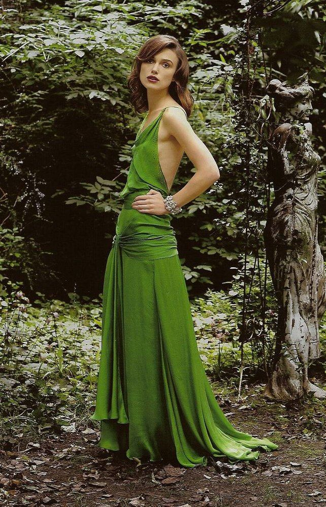 Keira Knightley green dress from Atonement
