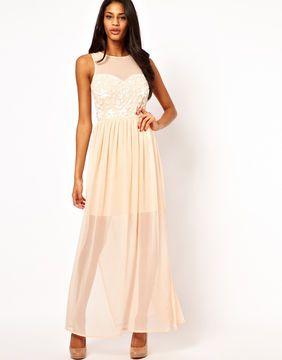 49650c8edc81 Lipsy Maxi Dress with Sequin Bodice on shopstyle.co.uk