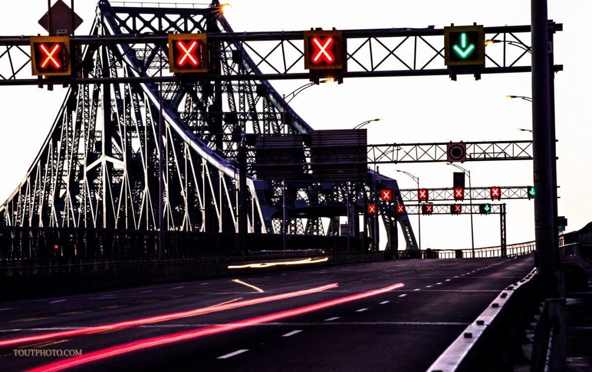 Pont Jacques Quartier. Montréal.