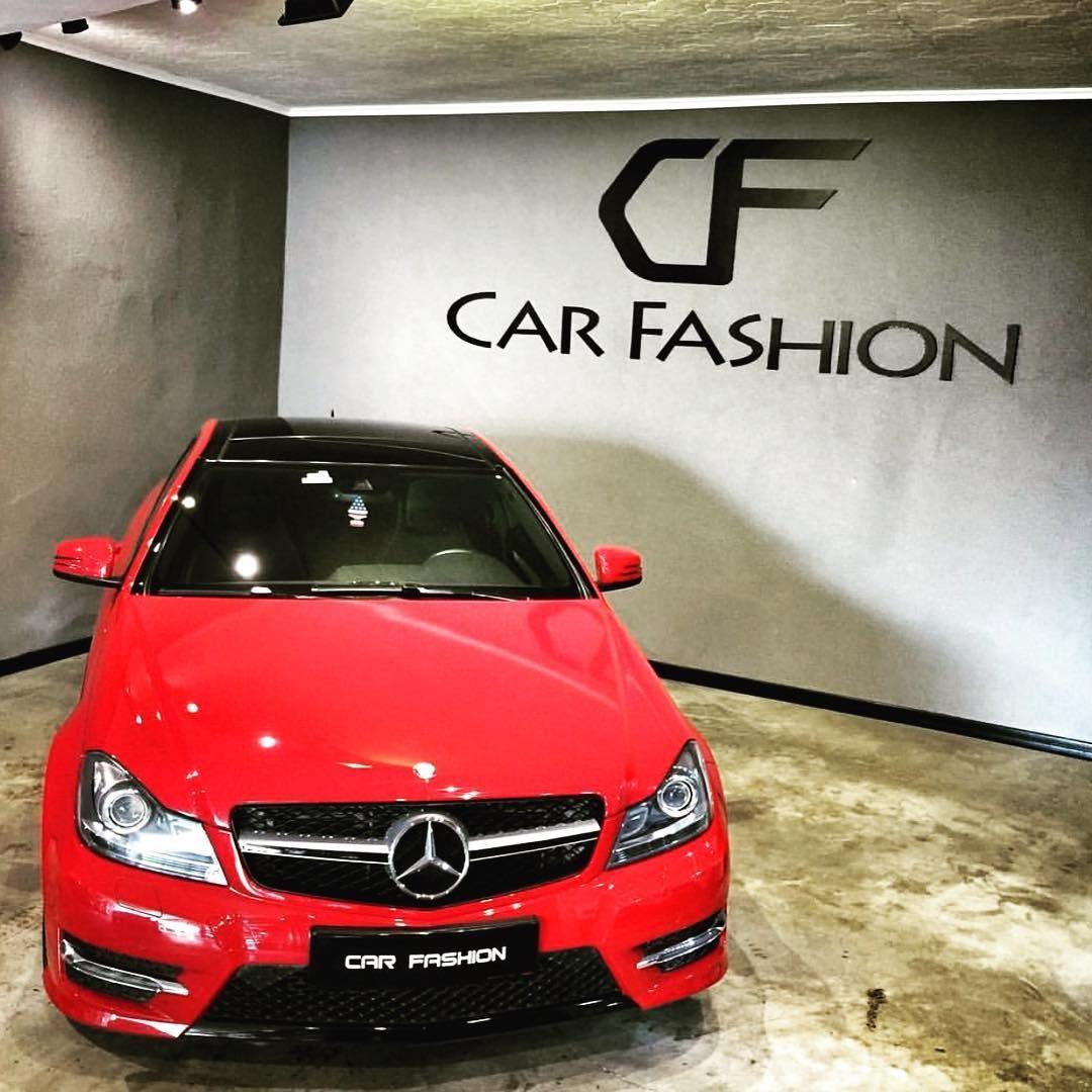 Arac W204 C Serisi Yapilan Uygulama C63 Panjur Mercedes W204