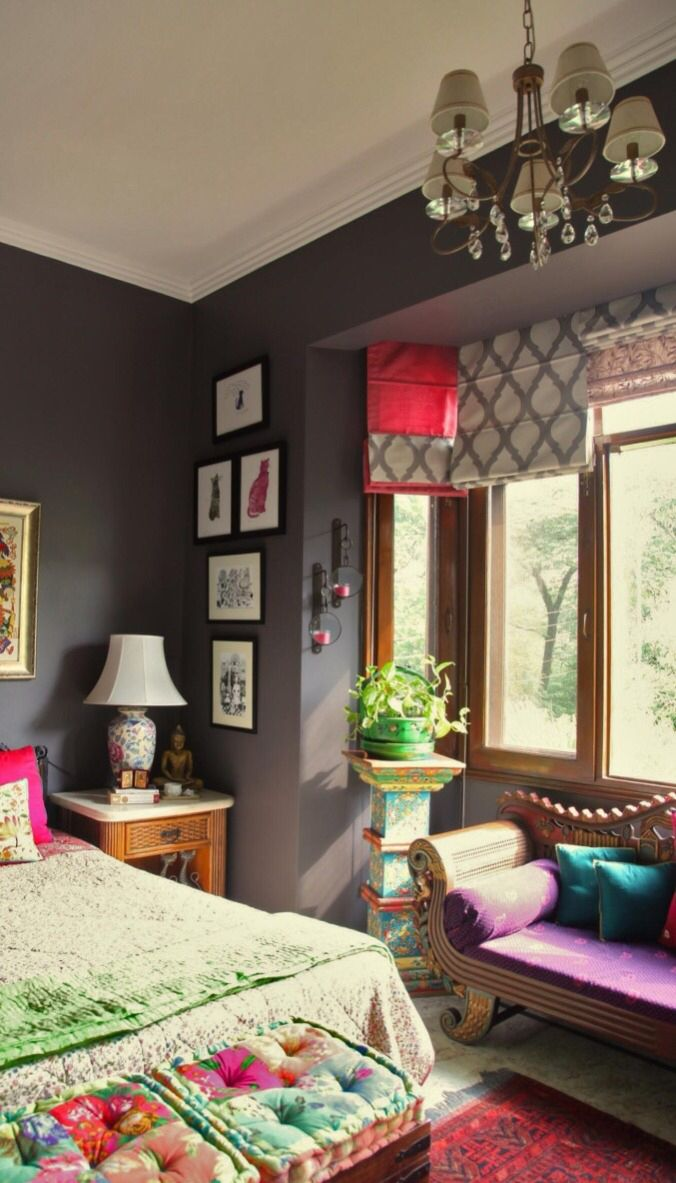 Aradhana anand is not afraid of experimenting with colors textures and paints in her home courage often well rewarded also kusum vinnay kusumvinnay on pinterest rh