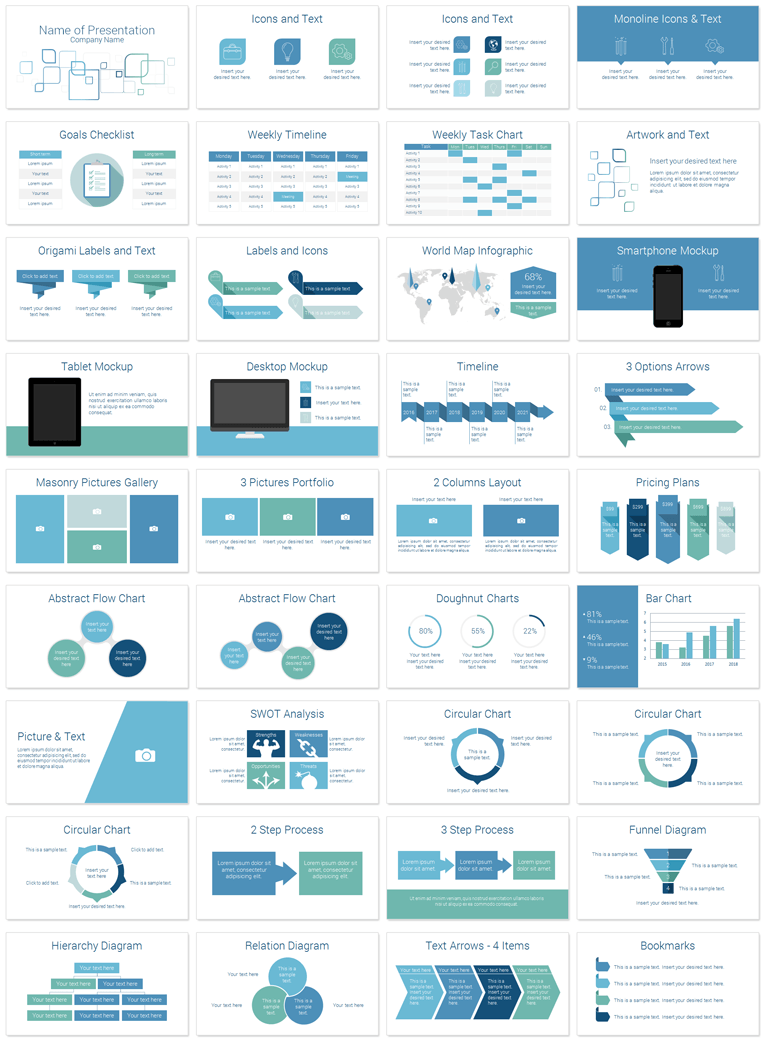 Business Design · Modern Corporate Powerpoint Deck